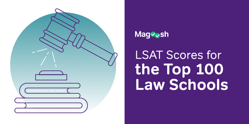 lsat score percentiles for top law schools