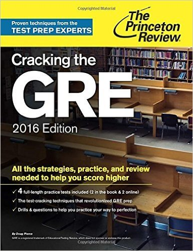 best gre books 2016