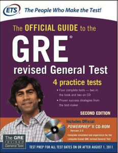 gre review book