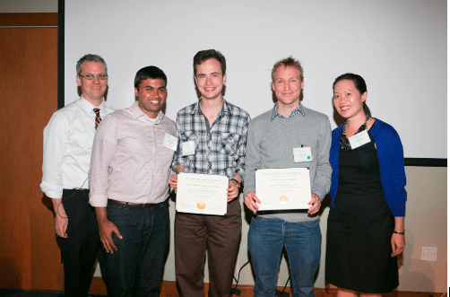 Left to right: Andre Marquis, Bhavin Parikh, Alastair Trueger, Johannes Koeppel, Wendy Lim