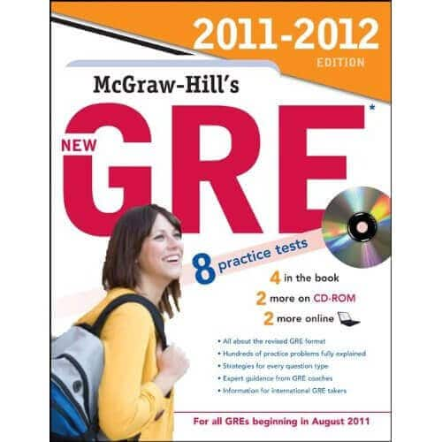 McGraw Hill New GRE Book-best GRE books-magoosh