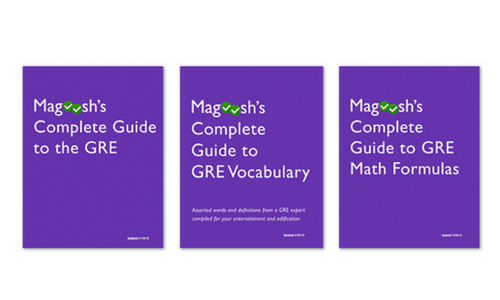 Magoosh GRE eBooks