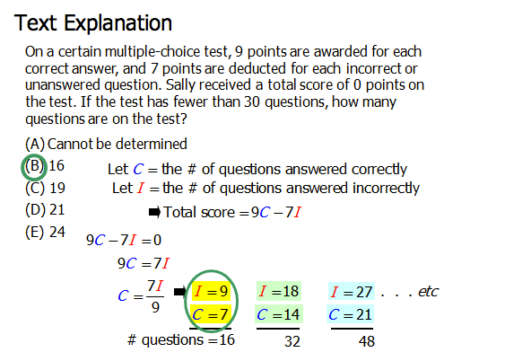 GMAT Challenge Problem #4 Answer