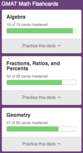 Free GMAT Math Flashcards