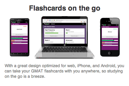 Free Magoosh GMAT Idiom Flashcards On The Go