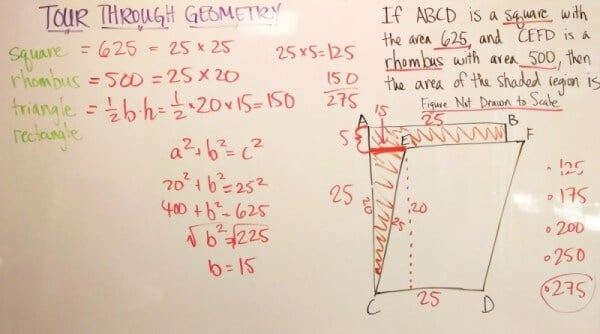 GMAT Challenge Question Tour of Geometry