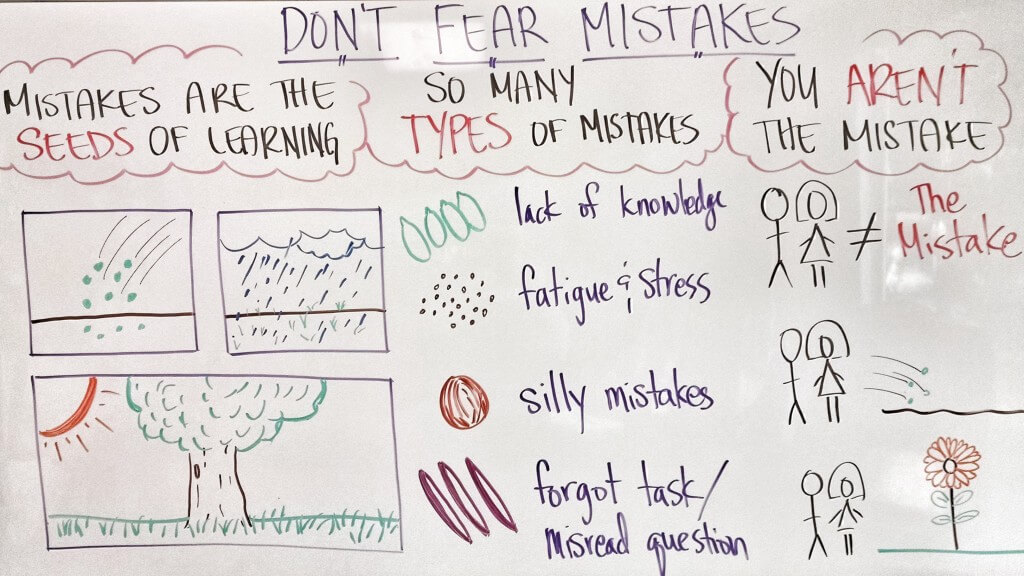 Don't Fear Mistakes