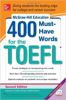 McGraw Hill's 400 Must Have Words for the TOEFL Cover Image