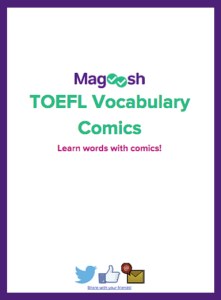 TOEFL Vocabulary Comics