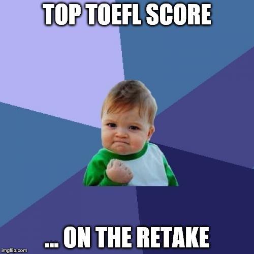 how to study for a toefl retake