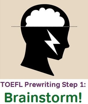 prewriting for TOEFL Independent Writing