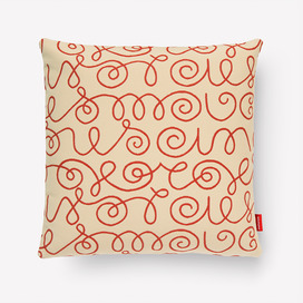 Names Pillow by Alexander Girard