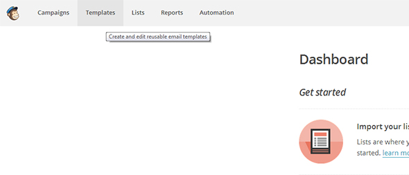 How To Import An Email Template Into Mailchimp - Mailchimp import template