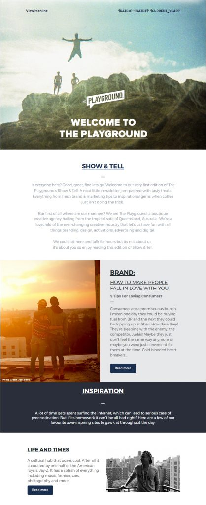 Custom MailChimp Templates: What They Are and How They Work