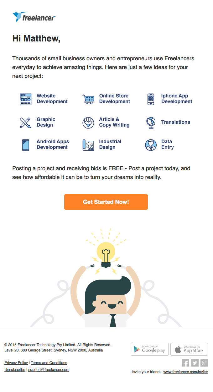 21 high performing b2b email marketing examples to steal ideas from