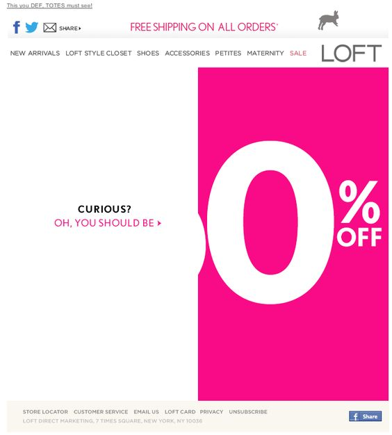 loft guess the discount