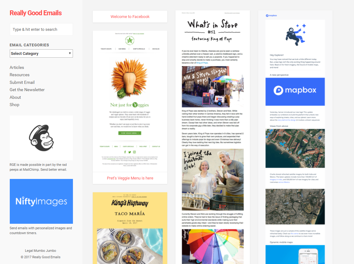 Email Design Inspiration: Top 10 Sources for Top Inspiration ...