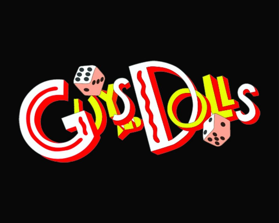 GUYS DOLLS Logo NEW