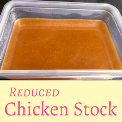 Reduced Chicken Stock