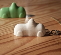 Swedish Candy Car Keyring 3d Models For 3d Printing