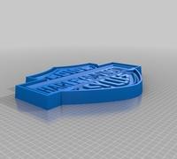 harley davidson logo 3d models for 3d printing
