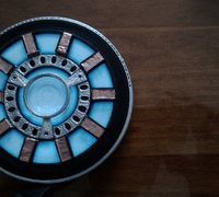 Wearable Arc Reactor For Electroluminescent Tshirt