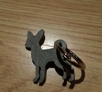 Amazon Live Chat >> Dog keychain 3D models for 3D printing | makexyz.com