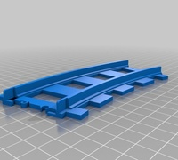 Lego train track straight 3D models for 3D printing | makexyz.com