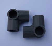 3way elbow 12 inch pvc pipe fitting series
