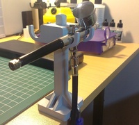 airbrush stand 3d models for 3d printing