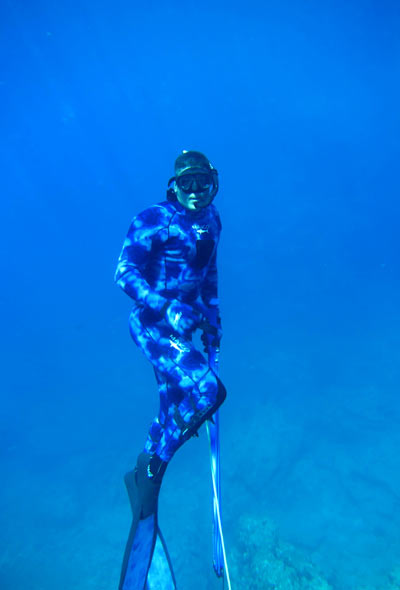 Dano Spearfishing in La Paz