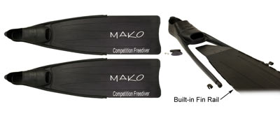 MAKO Spearguns Competition Freedive Fin