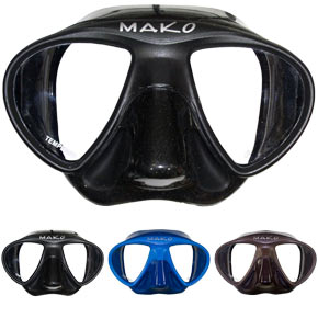 MAKO Spearguns freedive mask