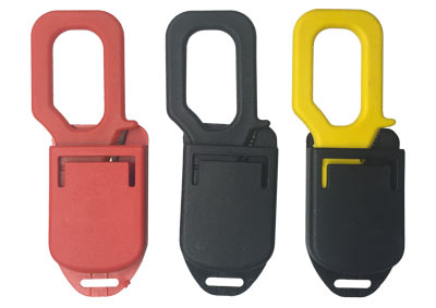 Line Cutter is available in red yellow and black