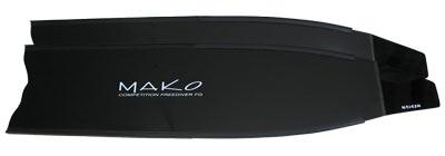 black fiberglass blade