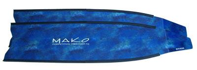 camo blue fiberglass blade