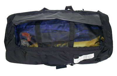 mesh bag inside gear bag