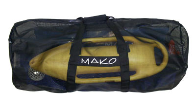 mesh dive bag - Side View