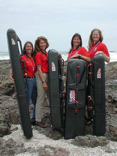 2004 US Women's Spearfishing Team