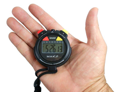 MAKO Spearguns Stop Watch