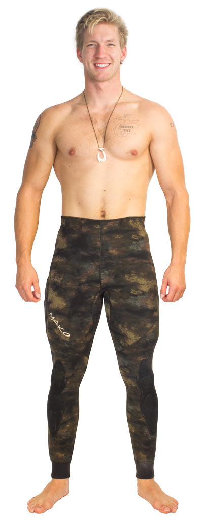 reef camo wetsuit - Optional High waist pants