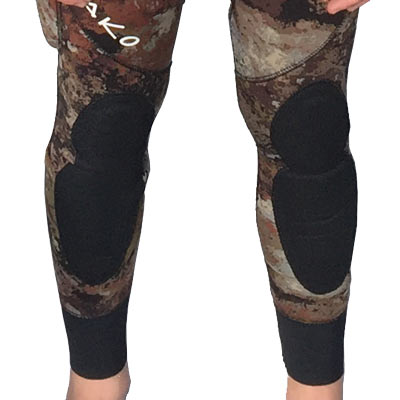 3D reef camo wetsuit Knee Pads