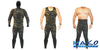 Yamamoto Reef Camo 2-Piece Open Cell Wetsuit