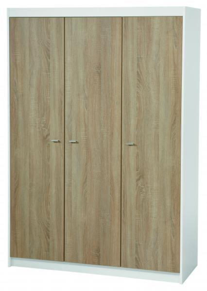 roba 42462 kleiderschrank 3 t rig gabriella kinderzimmer schrank holz ebay. Black Bedroom Furniture Sets. Home Design Ideas