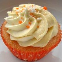 Cupcake de Fanta Laranja