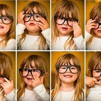Crianças de Óculos
