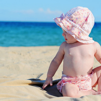 Melhores praias para ir com as crianças