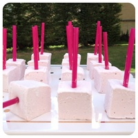Pirulito de Marshmallow de Framboesa