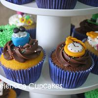 Cupcakes Alice no País das Maravilhas!!!