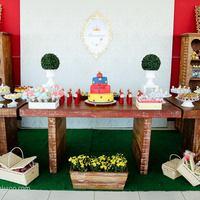 Festa Branca de Neve - por Yula Eventos.